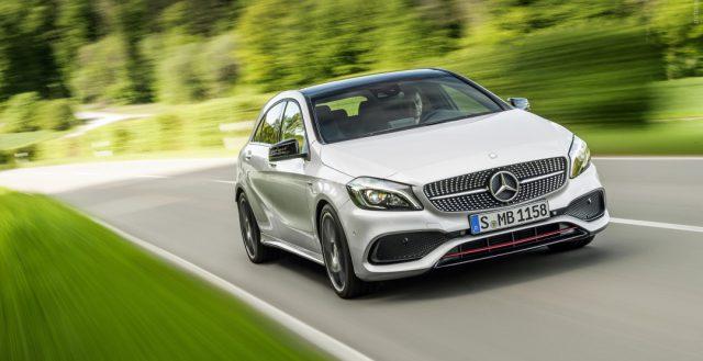 Немецкий бренд Mercedes-Benz рассматривает возможность расширения линейки A-Class