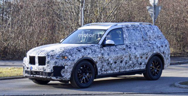 Новинка BMW X7 тестируется на территории Германии