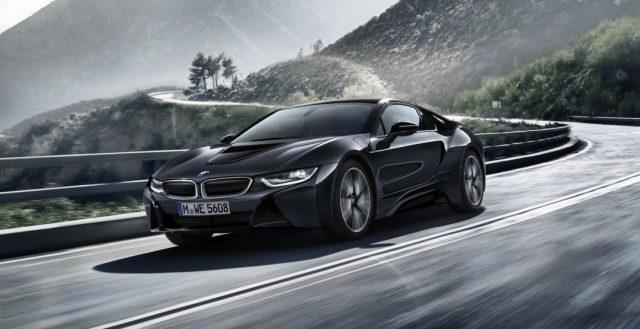 После обновления купейная модель BMW I8 получила более мощный мотор