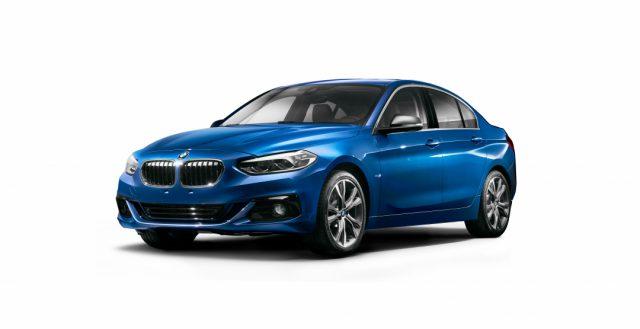 На китайской площадке BMW началось производство седана 1-series sedan
