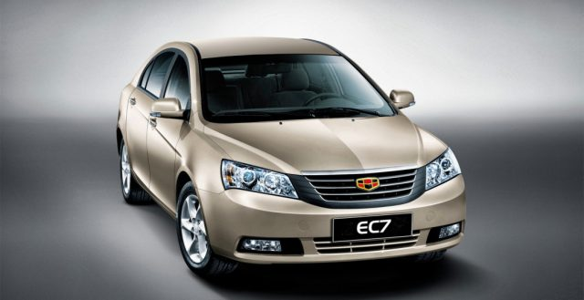 Партия новых автомобилей Geely EC7 будет отозвана на территории РФ