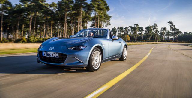 Родстер Mazda MX-5 теперь выпускается в специальной версии
