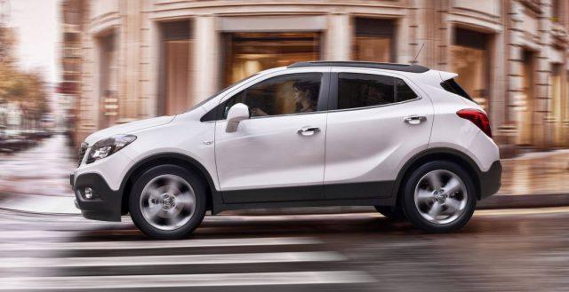 С территории РФ будет отозвано более 100 экземпляров Opel Mokka