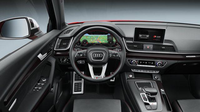 Audi SQ5 2017-2018 в новом кузове комплектации, цены, фото, технические характеристики и видео тест драйв