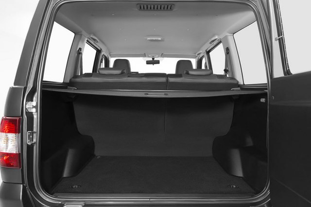 Фото багажника УАЗ Патриот 2017