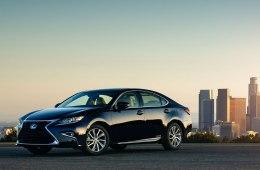 Lexus ES 2018 - комплектации, цены и фото
