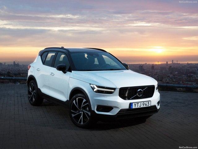 Volvo XC40 2018 - комплектации, цены и фото