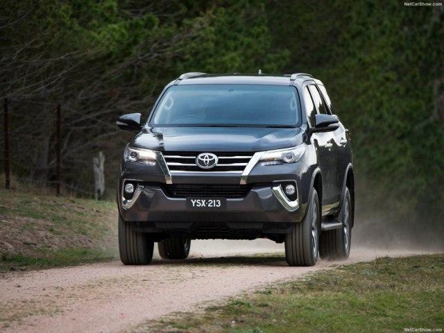 Toyota Fortuner 2018: комплектации, цены и фото