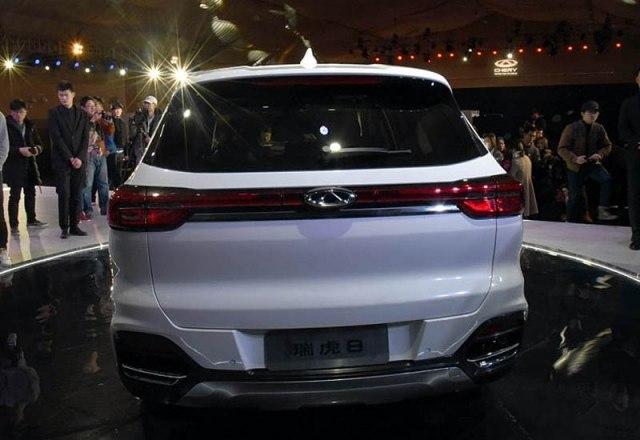 Chery Tiggo 8 2018 новая модель, кузов, фото, цены, комплектации, видео тест драйв Фото Авто Коломна