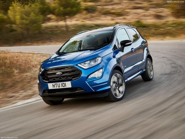 Ford Ecosport 2018 - комплектации, цены и фото